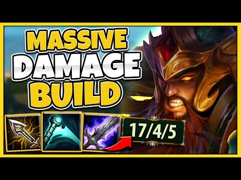 *CRAZY DAMAGE* THIS BUILD WILL SHRED THROUGH EVERYBODY - League of Legends