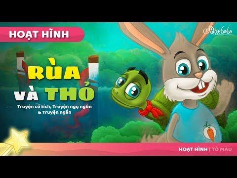 """Truyện cổ tích Việt Nam """" Rùa và Thỏ"""""""