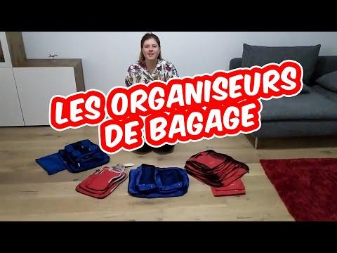 Les organiseurs de valise ! Avis et Test