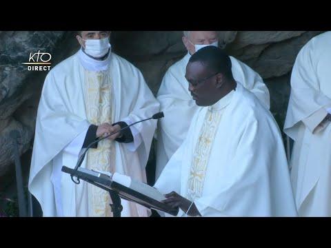 Messe de 10h à Lourdes du 16 octobre 2021