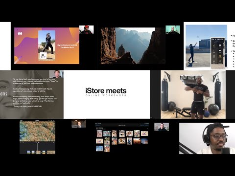 #iStoreMeets Online workshops Available for FREE