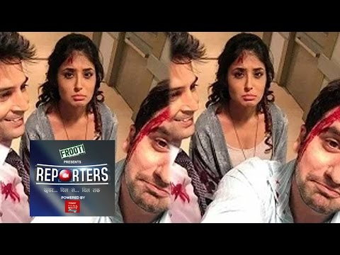 Ananya & Ronnie Meet With An Accident   Reporters