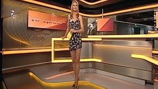 Ivana Gottova Beautiful CzechTv Presenter 22.08.2011