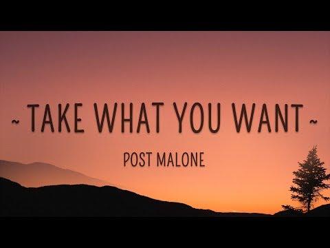 Post Malone, Ozzy Osbourne - Take What You Want (Lyrics) feat. Travis Scott