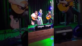 Arielle & Brooke McClymont singing Here's to you & I