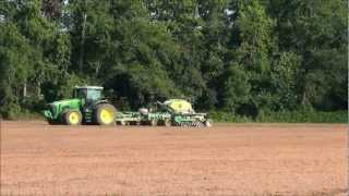 John Deere 9400 and 8270 in the same Field