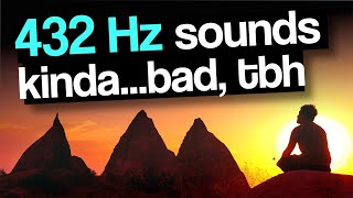 Testing 432 Hz Frequencies (and temperaments)