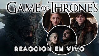 GAME OF THRONES EL FINAL |  REACCION Y ANALISIS EN VIVO | CAPITULO 6 TEMPORADA 8