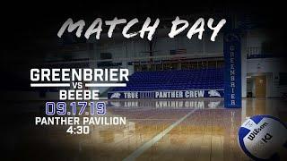 VB Greenbrier vs Beebe