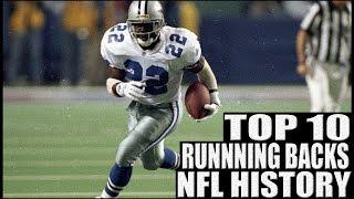 Top 10 Running Backs in NFL History