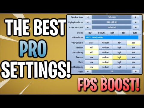 Fortnite Pc Best Graphic Settings | Free V Bucks Com