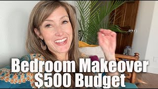 Master Bedroom Makeover on a $500 Budget