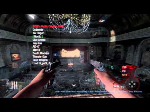 BO1/1 13/EBOOT] SC58 Zombies Non-Host Mod Menu Showcase +
