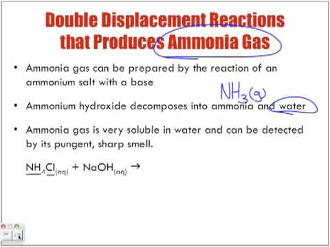 Ammonia Videos - World Of Chemicals