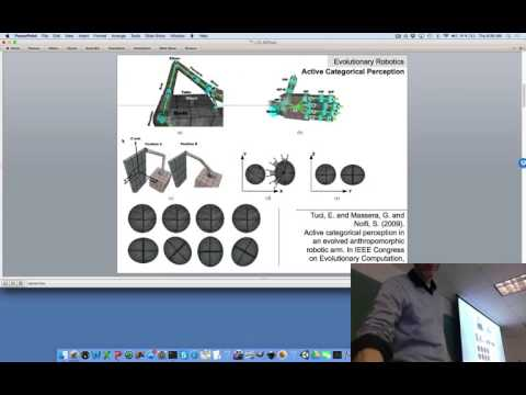 Lecture 10, UVM Evolutionary Robotics Course (Spring 2016). Legged locomotion.