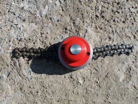 Chain Trimmer Head II- THE BEST BRUSH CUTTER  Disc motocoasa cu lant Ruris DAC310
