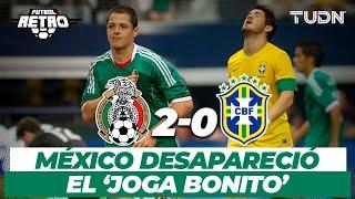Futbol Retro: La noche que México bailó al pentacampeón | México 2- 0 Brasil | Amistoso 2012 | TUDN