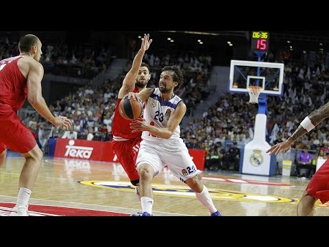 EuroLeague Highlights RS Round 1: Real Madrid 83-65 Olympiacos Piraeus