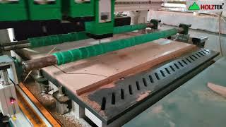 MÁY CNC NESTING 4 Đầu Holztek Cắt khoan ván Sản Xuất Sofa Cabinet