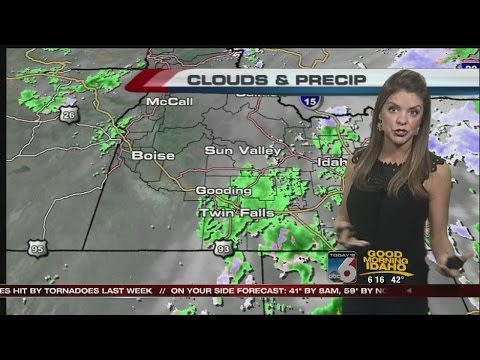 Bri Eggers' On Your Side Forecast:  Wednesday, May 7th