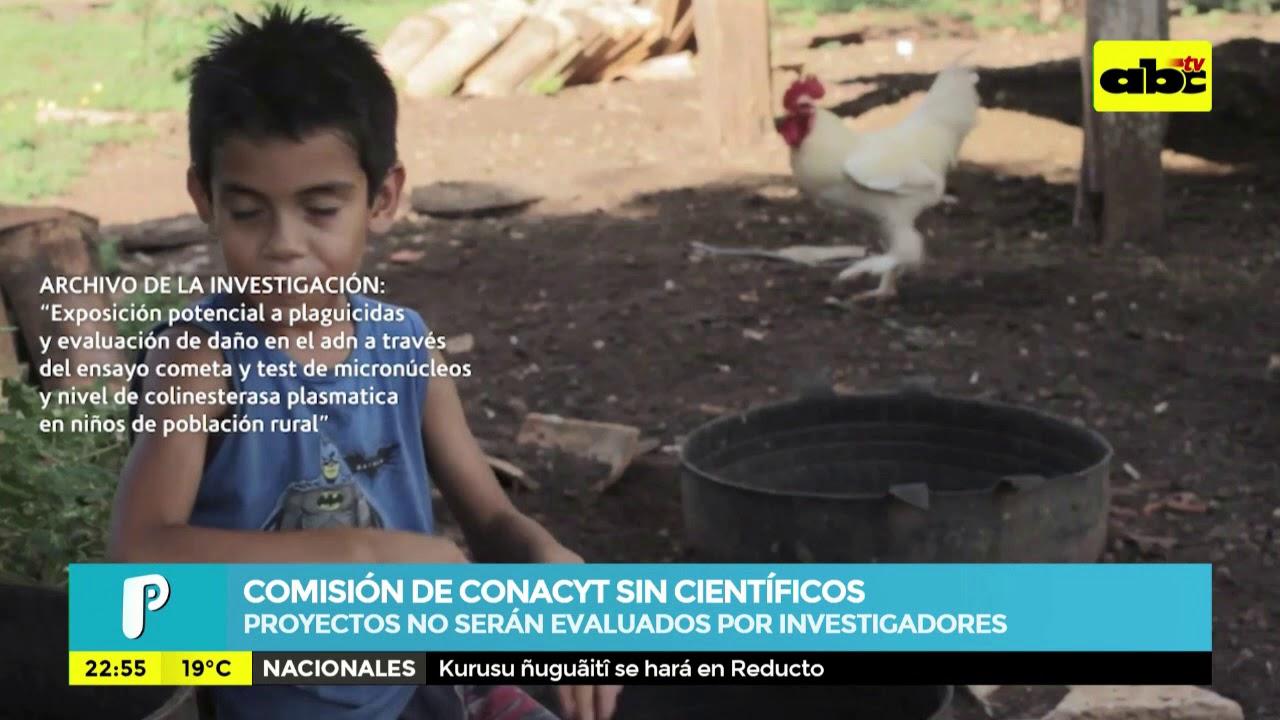 Comisión Conacyt, sin científicos