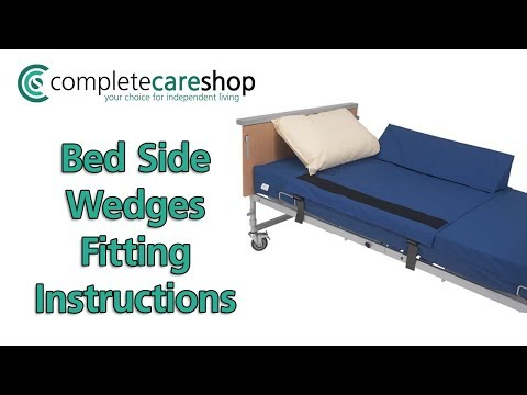 Bed Side Wedges Pack Fitting Instructions