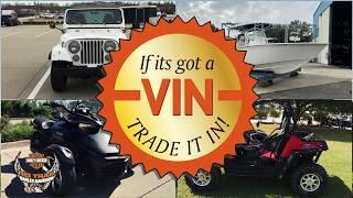 If it's got a VIN, trade it in!