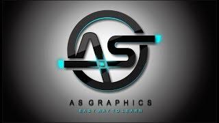 Logo Design | 3D Lighting Effect Logo Design Frist Time in - Coreldraw  X7
