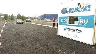 Primul centru drive-in din România pentru recoltare de probe biologice COVI-19