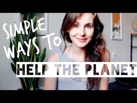 7 EASY WAYS TO HELP THE ENVIRONMENT [AND SAVE MONEY!! $$]