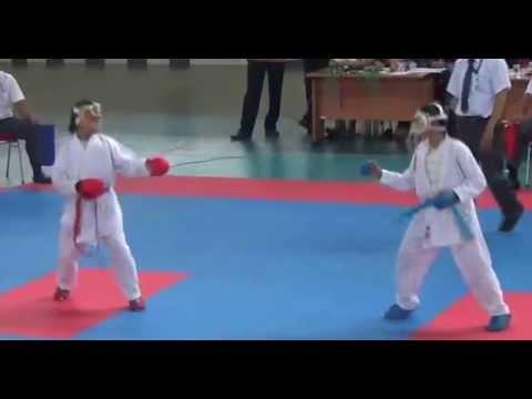 Video Olimpiade Olah Raga Sisiwa Nasional 2014 SMP Cabang Karate Tingkat Prov. RIAU