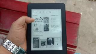 Basic uses of Amazon Kindle Paperwhite in Hindi