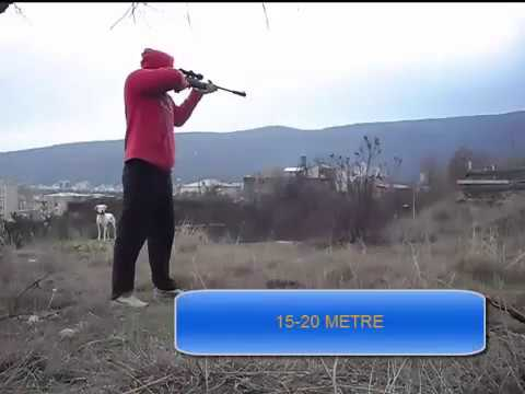 Gamo Air Rifle testing - смотреть онлайн на Hah Life