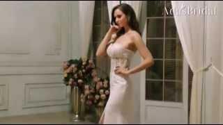 Amazing Chiffon Sweetheart Neckline See-through Slit Mermaid Wedding Dresses--Adasbridal(WWD59430)