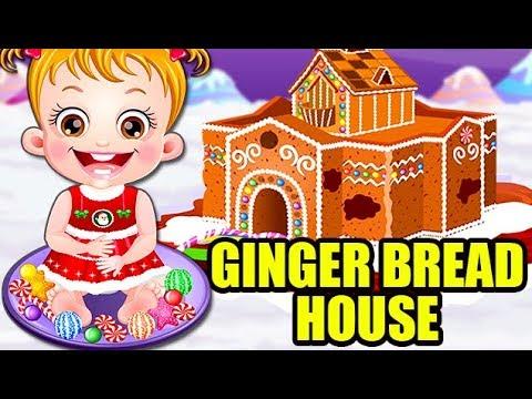 Video of Baby Hazel Gingerbread House