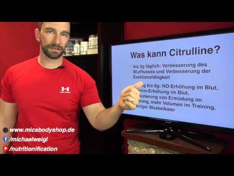 Was kann: Citrullin, Citrulline, Citrulline Malat