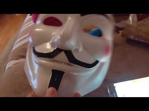 V For Vendetta Mask (is not real, it's Fake!)