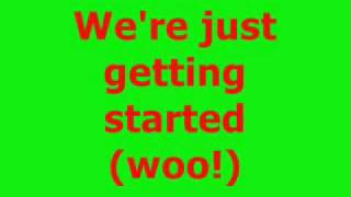 Lets Chill (Ice Cream Freeze) - Lyrics By Hannah Montana