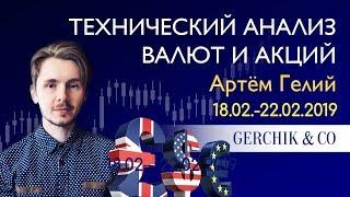 ≡ Технический анализ валют и акций от Артёма Гелий 18.02 - 22.02.2019.