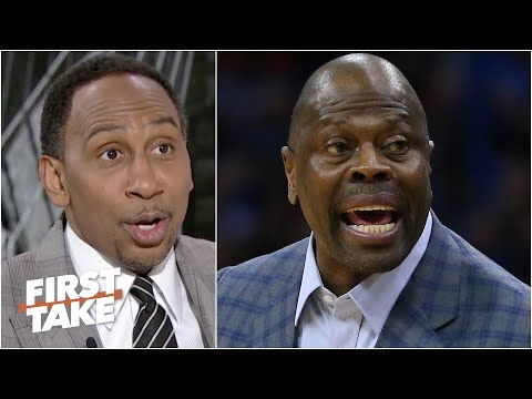 Stephen A. & Max react to Patrick Ewing being annoyed at MSG security | First Take