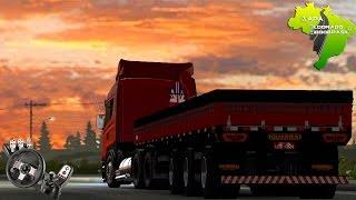 Euro Truck Simulator 2 - Scania Higline R730  + Diretão - Mapa Eldorado - Logitech G27