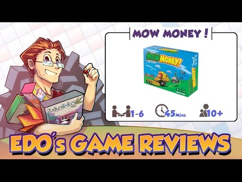Edo's Mow Money! Card Game Review