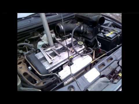 Фото к видео: замена натяжителя ремня генератора на FORD Mondeo 1.8 Б