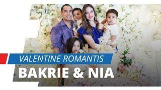 Momen Romantis Keluarga Bakrie di Hari Valentine, Ardi Bakrie beri Nia Ramadhani Cokelat dan Bunga