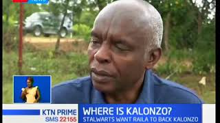 Where is Kalonzo Musyoka? He seems to have taken a back seat from the political lime light