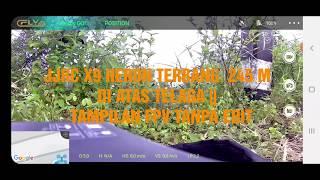 JJRC X9 HERON || Tampilan FPV Tanpa Edit