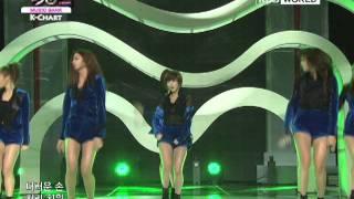 [Music Bank K-Chart] Dal Shabet - Hit U (2012.01.26)