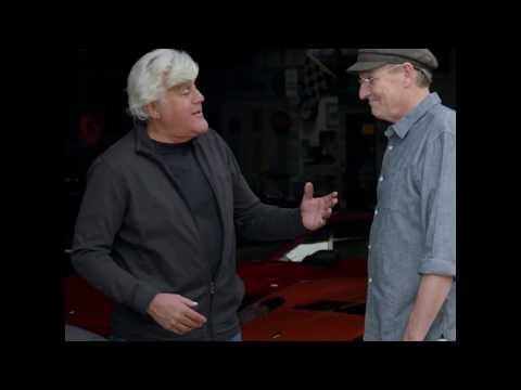 James visits Jay Leno's Garage
