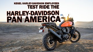 Kegel Harley-Davidson - Employees Ride the 2021 Pan America for the First Time