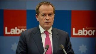 Bill Shorten gives his first speech as Labor leader